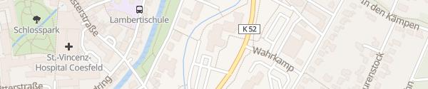Karte Kreishaus Coesfeld