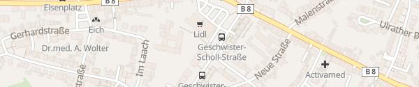 Karte Lidl Troisdorf