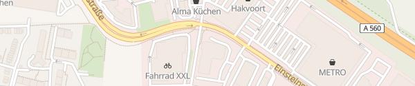 Karte RWE Ladesäule Sankt Augustin