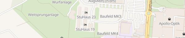 Karte Wohnheim Sankt Augustin