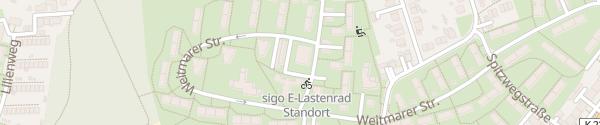 Karte Bärendorfer Straße Bochum