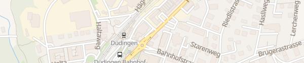 Karte MOVE Ladesäule Düdingen
