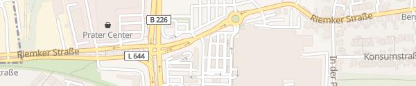 Karte Hannibal Center Bochum