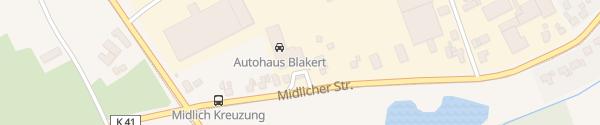 Karte Autohaus Blakert Rosendahl