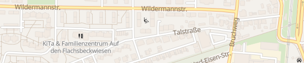 Karte Talstraße Recklinghausen