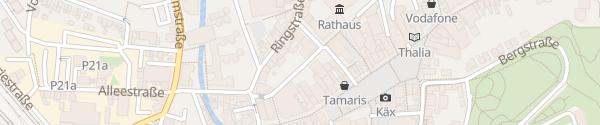 Karte Elisabethstraße Siegburg
