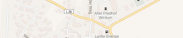 "Karte Landgasthof ""Zum großen Krug"" Wirdum"