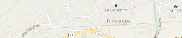 Karte Village REKA Rougemont