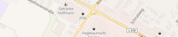 Karte Hagebaumarkt Ochtrup