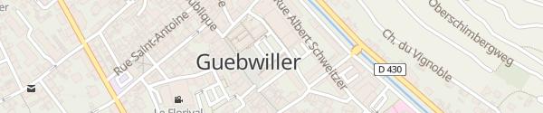 Karte Mairie Guebwiller