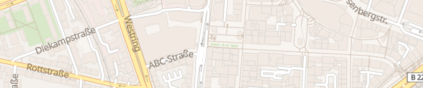 Karte Parkhaus P1 Husemannplatz Bochum
