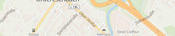 Karte VR Bank Overath-Untereschbach