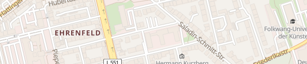Karte GLS-Bank Bochum