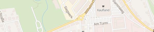 Karte Wilhelm-Ostwald-Straße Siegburg