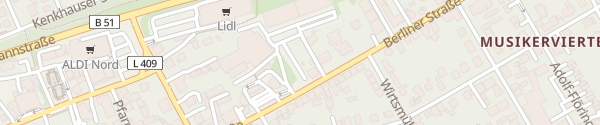 Karte BEW Ladesäule Wermelskirchen