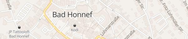 Karte Parkplatz Stadtverwaltung Bad Honnef