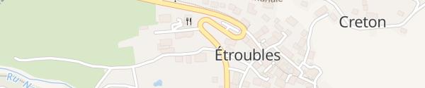 Karte Rue des Vergers Étroubles