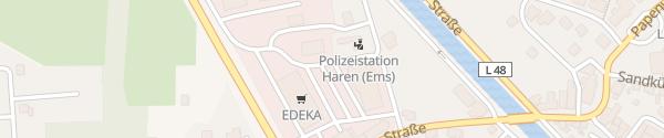 Karte EDEKA Konen Haren