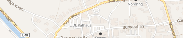 Karte E-Bike Ladesäule Tourist Information Haren