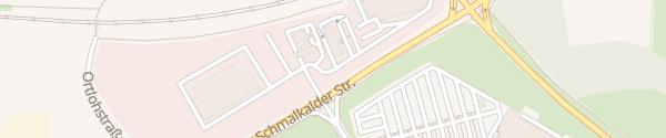 Karte McDonald's Recklinghausen