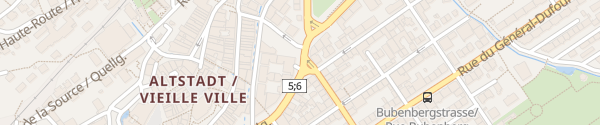 Karte Parking Altstadt Biel/Bienne