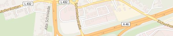 Karte Fertighauswelt Wuppertal