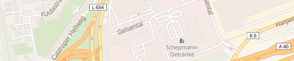 Karte WISAG Bochum