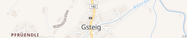 Karte Hotel Residence Sanetsch Gsteig