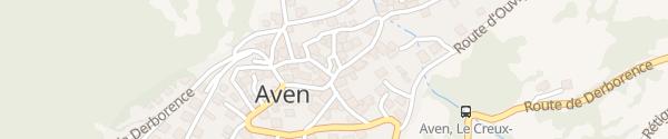 Karte Chapelle St-Antoine Aven
