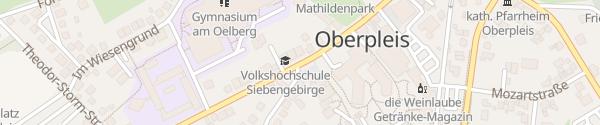 Karte Rathaus Oberpleis Königswinter
