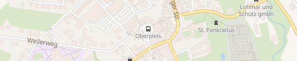 Karte Parkhaus Oberpleis Königswinter