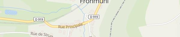 Karte Rue Principale Frohmuhl
