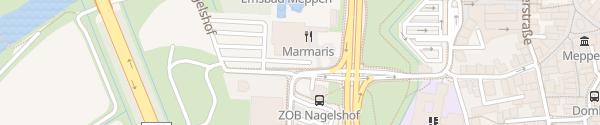 Karte Emsbad Meppen