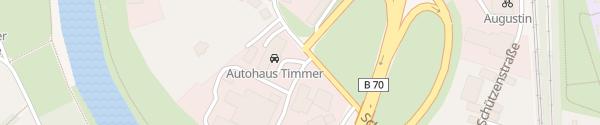 Karte Autohaus Timmer Meppen