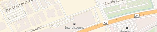 Karte Parkgarage Centre Boujean Biel/Bienne