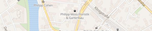 Karte Hotel Pöker Meppen