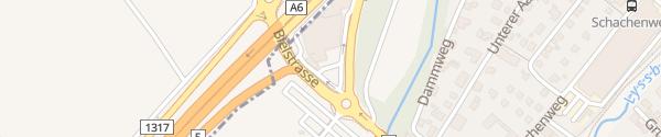 Karte Autobahn-Garage Zwahlen & Wieser Lyss