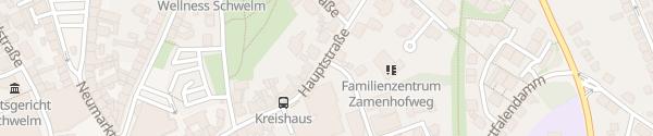 Karte Kreishaus Schwelm