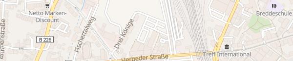 Karte Aldi / DM Witten