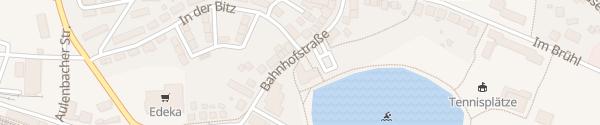 Karte Verbandsgemeindeverwaltung Baumholder