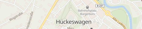 Karte Schloss Hückeswagen