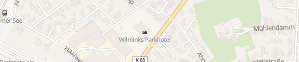 Karte Wilminks Parkhotel Neuenkirchen