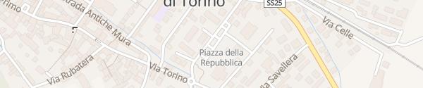 Karte Piazza della Repubblica Sant'Ambrogio di Torino