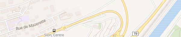 Karte Friedhof Sion