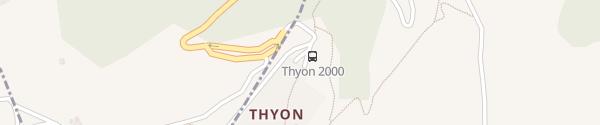 Karte Thyon 2000 Thyon