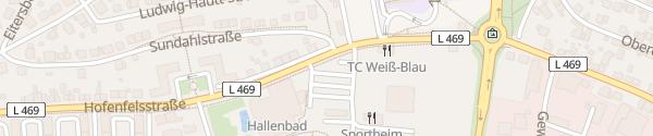 Karte Badeparadies Zweibrücken