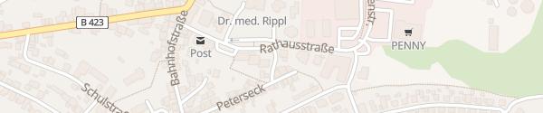 Karte Rathaus Schönenberg-Kübelberg