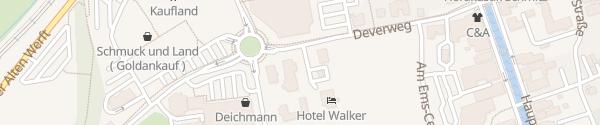 Karte EWE Servicepunkt Papenburg
