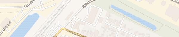 Karte Bahnhofstraße Papenburg
