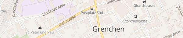 Karte Grenchner Hof Grenchen